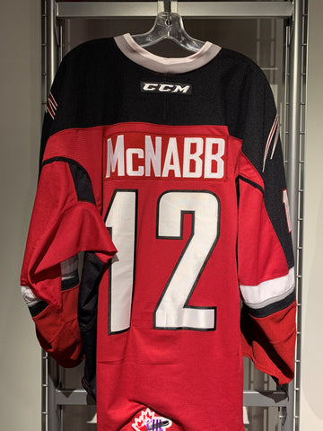Cyle McNabb Game Worn Jersey - Red