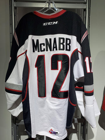 Cyle McNabb Game Worn Jersey - White