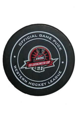 WHL Finals Official Game Puck