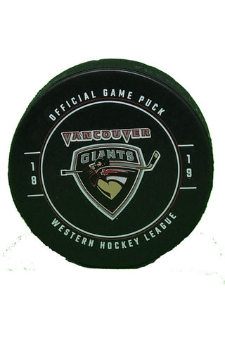18/19 Game Puck