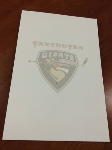 Giants Notepad