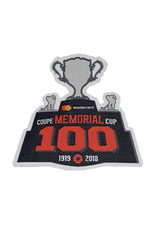 Memorial Cup 100th Anniversary Patch