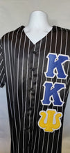 Load image into Gallery viewer, Kappa Kappa Psi Black Baseball Jersey