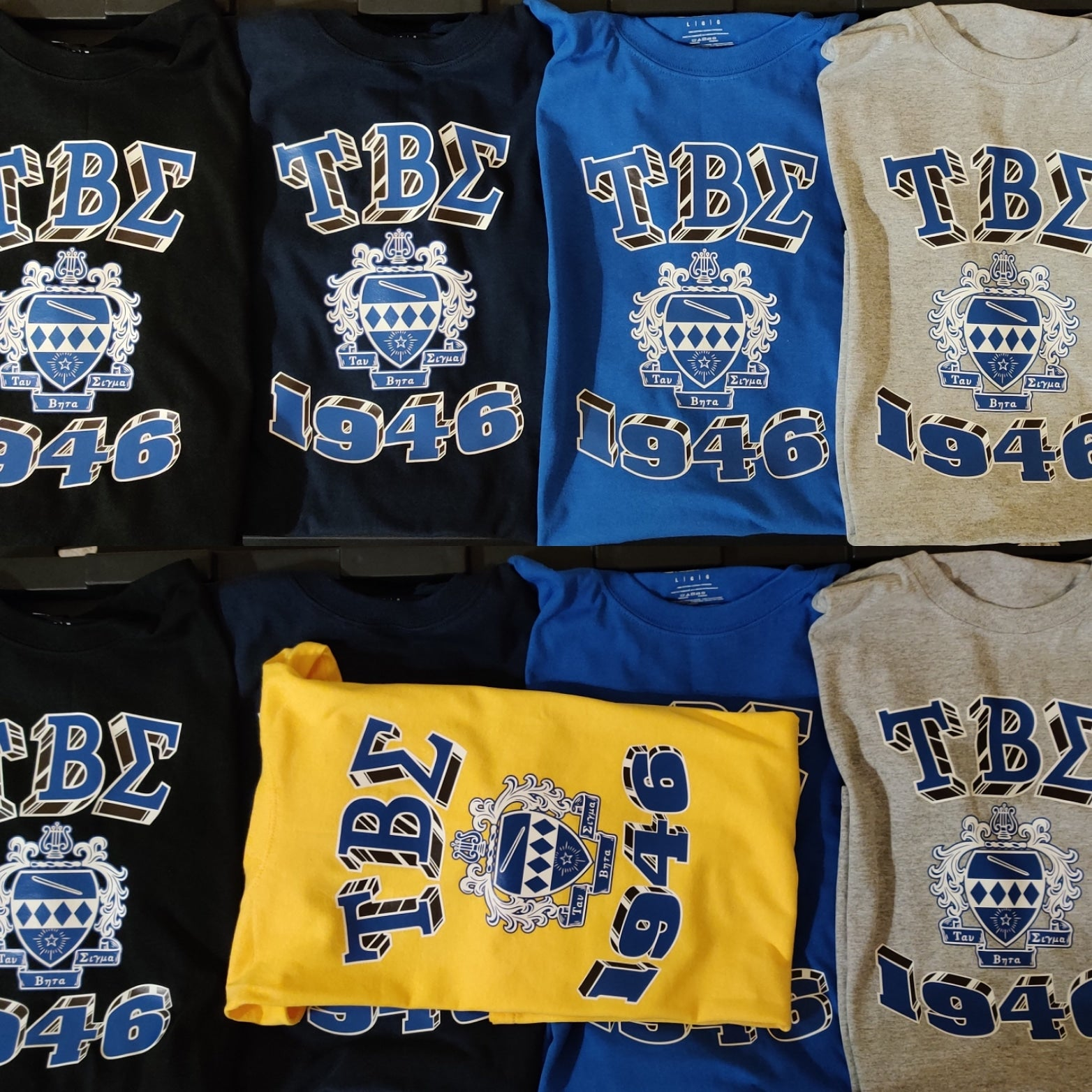 Tau Beta Sigma - 1946/Crest Block - T-Shirt