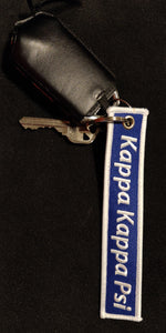 Kappa Kappa Psi - Embroidered Keychain