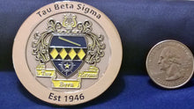 Load image into Gallery viewer, Tau Beta Sigma Challenge Coin