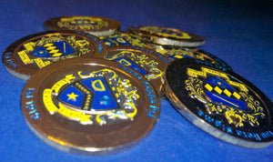 Kappa Kappa Psi / Tau Beta Sigma Dual Sided Challenge Coin