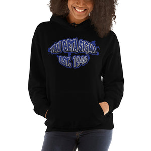 Tau Beta Sigma - Graffiti V2 - Hooded Sweatshirt