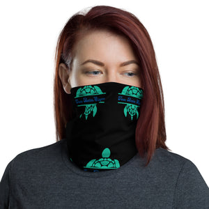 Tau Beta Sigma - Turtle - Black Neck Gaiter