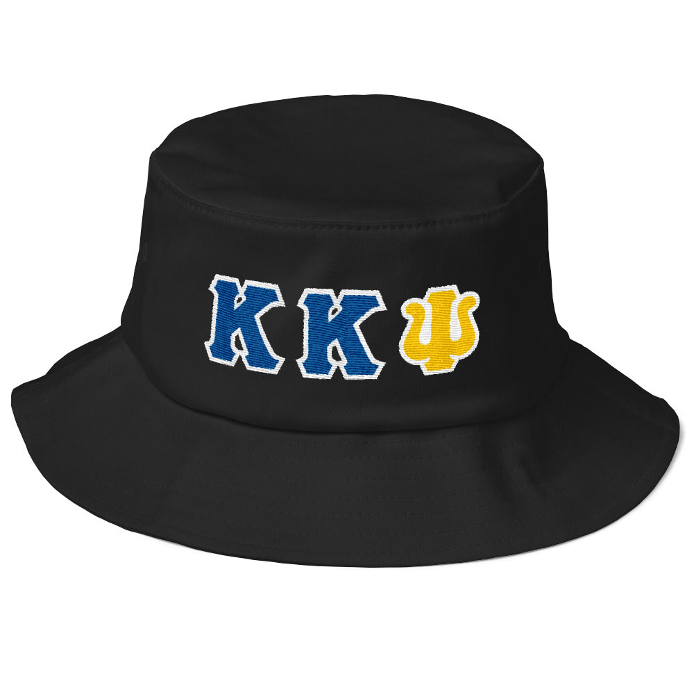 Kappa Kappa Psi - Greek Letters - Old School Bucket Hat