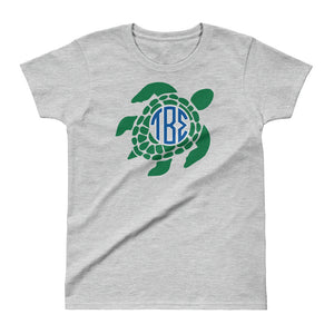 Tau Beta Sigma - Turtle Frame Ladies' T-shirt