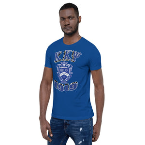Kappa Kappa Psi - 1919/Crest Block - Short-Sleeve Unisex T-Shirt (Screen Print)