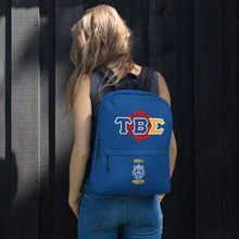 Load image into Gallery viewer, Tau Beta Sigma - Greek Rose - Backpack