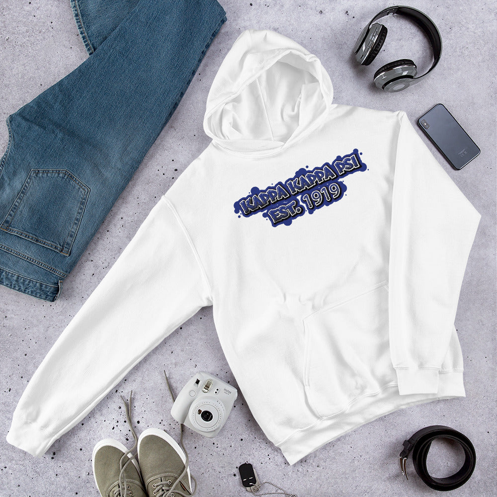Kappa Kappa Psi - Graffiti - Hooded Sweatshirt