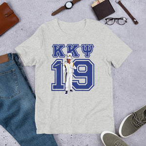 Kappa Kappa Psi - Greek '19 - Drum Major - Short-Sleeve Unisex T-Shirt