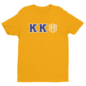 Kappa Kappa Psi - Greek Letters - Short Sleeve T-shirt