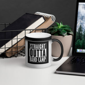 Straight Outta Band Camp - Matte Black Magic Mug