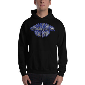 Kappa Kappa Psi - Graffiti V2 - Hooded Sweatshirt -Black