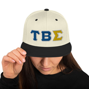 Tau Beta Sigma - Greek - Snapback Hat