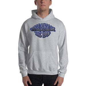 Kappa Kappa Psi - Graffiti V2 - Hooded Sweatshirt - Grey