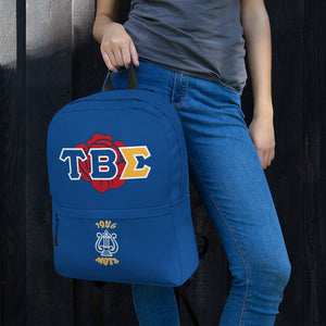 Tau Beta Sigma - Greek Rose - Backpack