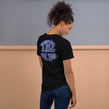 Load image into Gallery viewer, Tau Beta Sigma - Graffiti Double Sided - Short-Sleeve Unisex T-Shirt