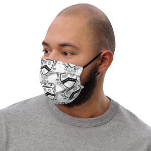 Kappa Kappa Psi - Black Crest - Face mask