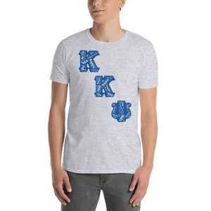 Kappa Kappa Psi - Word - Short-Sleeve - Gray