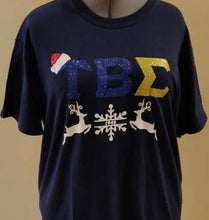 Load image into Gallery viewer, Tau Beta Sigma - Holiday T-Shirt