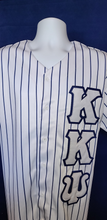 Load image into Gallery viewer, Kappa Kappa Psi White Baseball Jersey