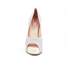 Hacho Platform: Light Gray w/Blush Pink Trim