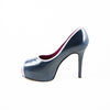 Hacho Platform: Navy w/Pearlized White Trim