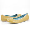 Isis Ballet Flat: Camel w/Nude Trim