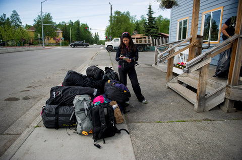 Supplies in Anchorage including Khunu yak wool sweaters
