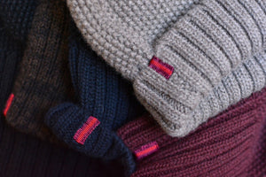 Fisherman Beanie: Burgundy - Khunu