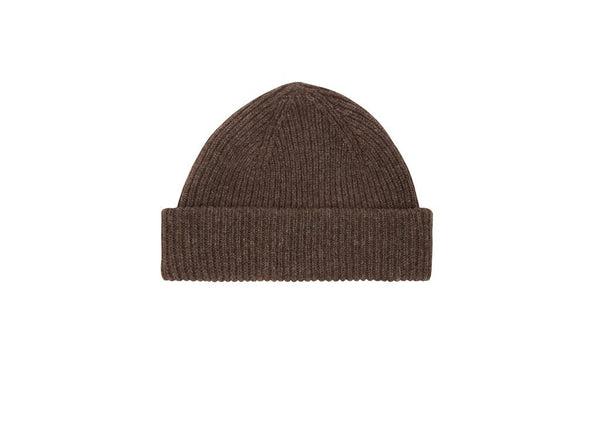 Fisherman Beanie: Natural - Khunu yak wool