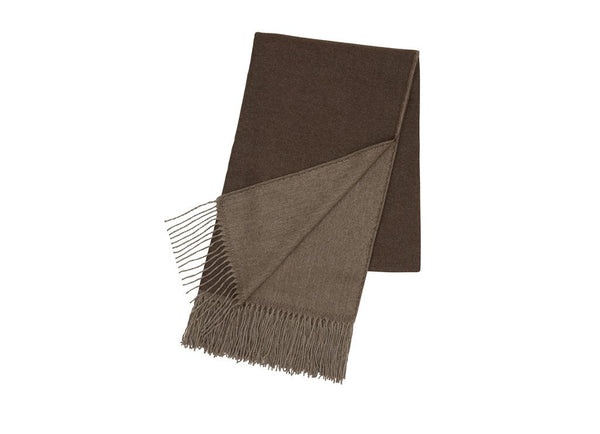 Safari Blanket: Brown/Grey - Khunu yak wool