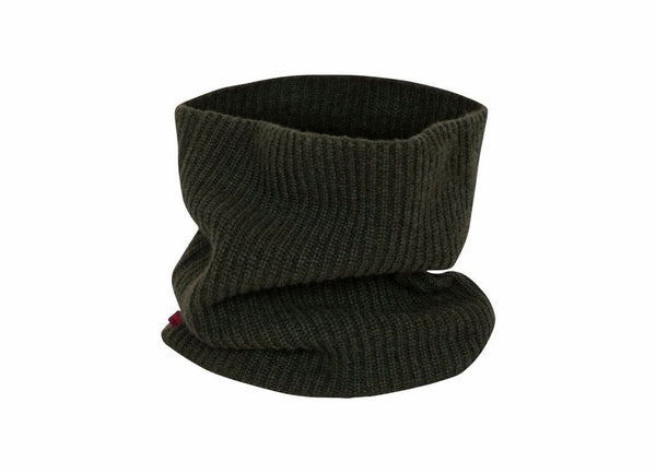Snood: Green - Khunu yak wool