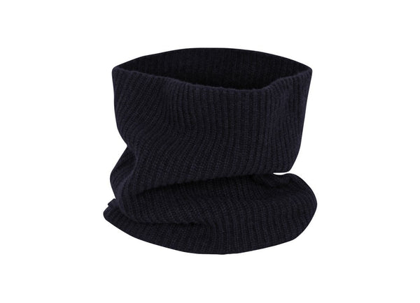 Snood: Navy - Khunu yak wool