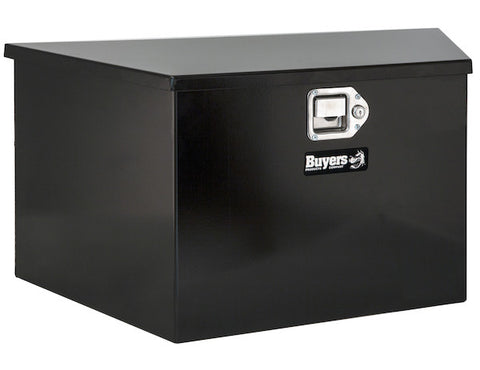 1701280 Trailer Tool Box Black