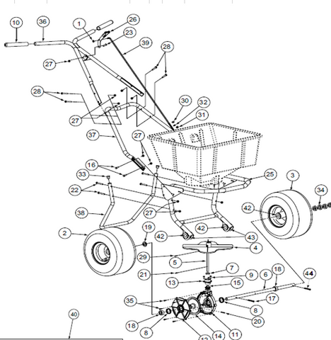 Products Tagged Lesco Spreader Parts Page 2 G G Fleet Supply