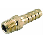 "Barb Fitting 1/4"" x 1/2"" (Brass) P/N: GGBIMP84"