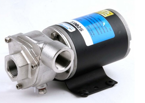 Hypro 9700S Stainless Steel Aqua Tiger 12V Pump P/N: GG9700S