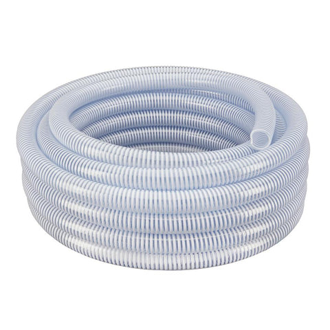 "Water Suction Hose 1"" ID PVC Reinforced- By The Foot P/N: GGHWPSC1"