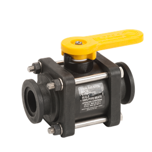 Banjo Flanged Ball Valve 2'' Full Port P/N: GGMV220CF