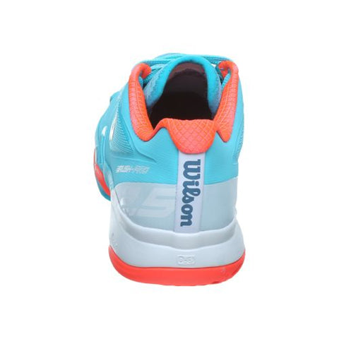 Wilson Womens Rush Pro 2.5 blue/orange/white