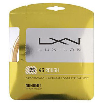 Luxilon 4G Rough 125 12m Set