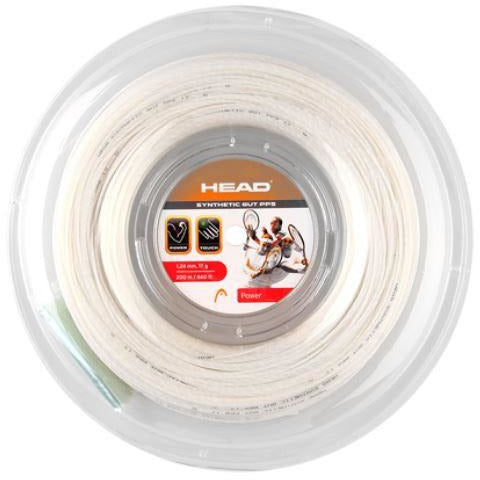 Head Synthetic Gut PPS 125 White 200m