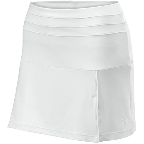 Wilson Womens Team Skirt II white
