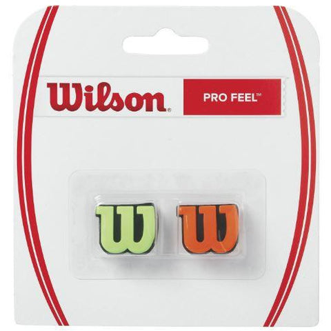 Wilson Pro Feel Dampener Twin Pack green/orange